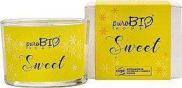 Kup Ekologiczna świeca zapachowa - PuroBio Home Organic Sweet