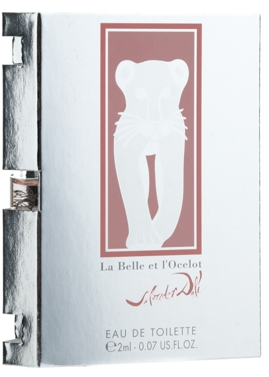 Salvador Dali La Belle et l'Ocelot Eau de Toilette - Woda toaletowa (próbka) — фото N1