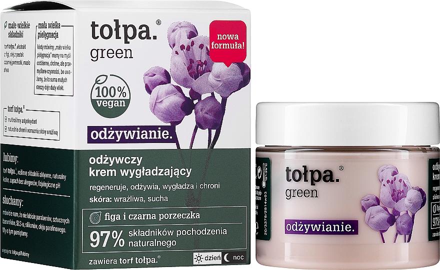 Odżywczy krem wygładzający do twarzy Figa i czarna porzeczka - Tolpa Green Nourishing Smoothing Cream — фото N2