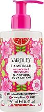 Kup Balsam do ciała - Yardley Flowerazzi Magnolia & Pink Orchid Smoothing Body Lotion