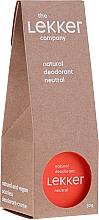 Kup Bezzapachowy naturalny dezodorant w kremie - The Lekker Company Natural Deodorant Neutral