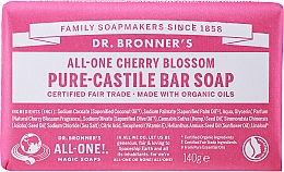 Kup Naturalne mydło w kostce Kwiat wiśni - Dr. Bronner's All-One! Cherry Blossom Pure-Castile Bar Soap
