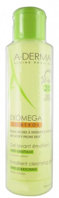 Emolientowy żel do mycia ciała redukujący uczucie swędzenia - A-Derma Exomega Control Emollient Cleansing Gel Anti-Scratching — фото N1