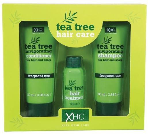 Zestaw - Xpel Marketing Ltd Tea Tree Invigorating (shm 100 ml + cond 100 ml + serum 30 ml) — фото N1