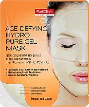 Kup Przeciwstarzeniowa maseczka hydrożelowa do twarzy - Purederm Age Defying Hydro Pure Gel Mask