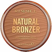 Kup Bronzer do twarzy z rozświetlającymi drobinkami - Rimmel Natural Bronzer