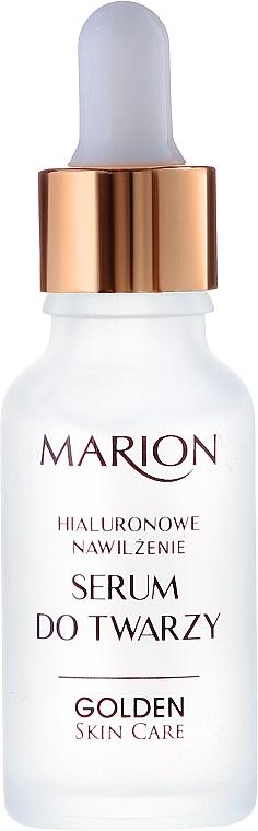 PREZENT! Serum do twarzy, szyi i dekoltu Hialuronowe nawilżenie - Marion Golden Skin Care — фото N2
