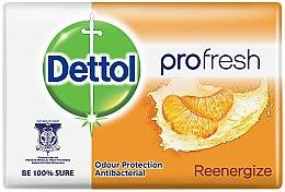 Kup Antybakteryjne mydło w kostce o zapachu mandarynki - Dettol Anti-bacterial Re-Energise Bar Soap