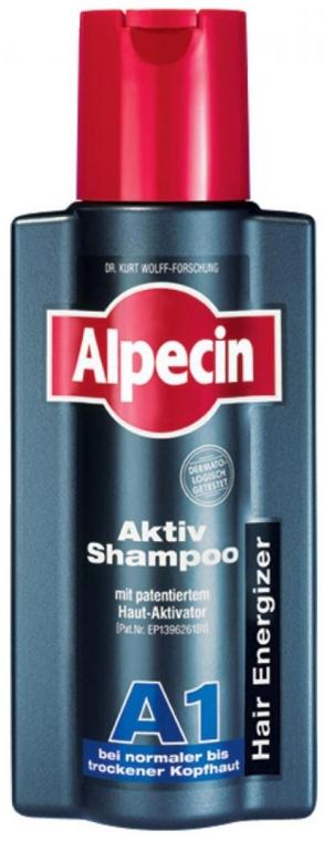 Szampon aktywujący wzrost włosów do normalnej i suchej skóry głowy - Alpecin A1 Active Shampoo — фото N1