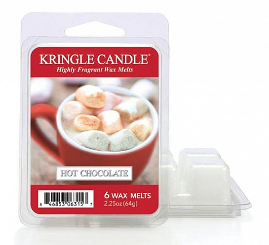 Wosk aromatyczny - Kringle Candle Wax Melt Hot Chocolate — фото N1
