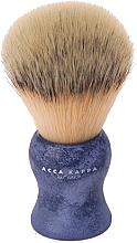 Kup Pędzel do golenia - Acca Kappa Shaving Brush Natural Style Blue