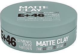 Kup Matowa glinka do stylizacji włosów - E+46 Matte Clay