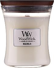 Kup Świeca zapachowa w szkle - WoodWick Hourglass Candle Magnolia
