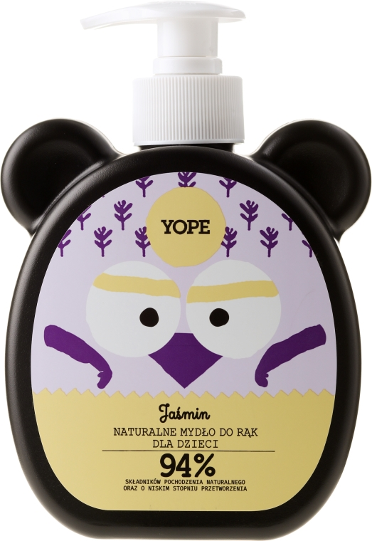 Naturalne mydło do rąk dla dzieci - Yope Jaśmin
