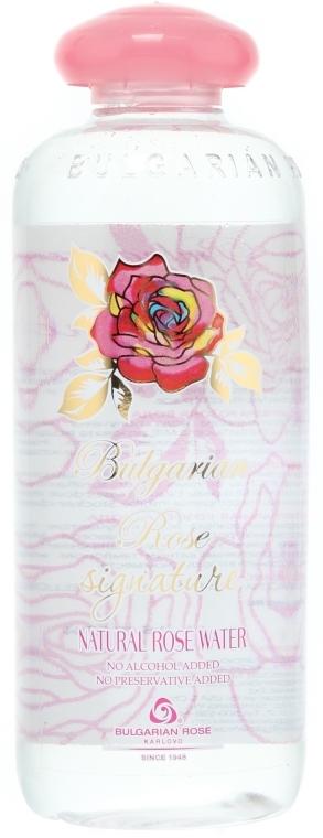 Naturalna woda różana - Bulgarian Rose Signature Rose Water — фото N3