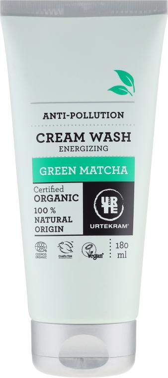 Organiczny oczyszczający krem pod prysznic Zielona matcha - Urtekram Green Matcha Cream Wash — фото N1