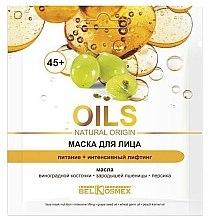 Kup Maska do twarzy Odżywienie i intensywny lifting 45+ - BelKosmex OILS Natural Origin