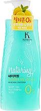 Kup Odświeżająca odżywka do włosów z algami i esencją cytrynową - KeraSys Naturing Refreshing Conditioner