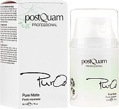 Kup Rewitalizujący fluid do twarzy - PostQuam Pure 02 Matte Repair Fluid