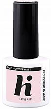 Kup Matowy topc coat do paznokci bez przemywania - Hi Hybrid Top No Wipe Matt