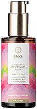 Kup Odmładzający olejek do ciała - Khadi Ayurvedic Elixir Skin & Soul Oil Rose Love