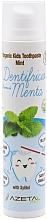 Kup Pasta do zębów dla dzieci Mięta - Azeta Bio Organic Kids Toothpaste Mint
