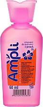 Kup Bezacetonowy zmywacz do paznokci z prowitaminą B5, różowa buteleczka - Ampli