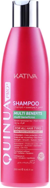 Szampon do włosów farbowanych - Kativa Quinua PRO+ Shampoo