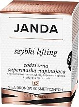 Kup PRZECENA! Codzienna supermaska napinająca szybki lifting - Janda *