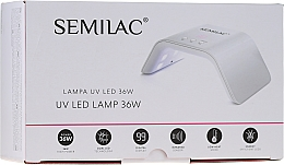 Kup Lampa UV/LED, 36W, biała - Semilac