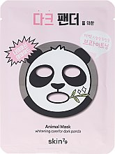 Kup Maska na tkaninie do twarzy Czarna panda - Skin79 Animal Mask For Dark Panda