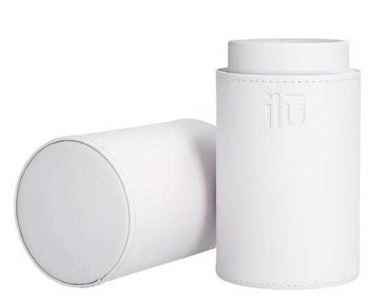 Tuba na pędzle, 22.5x7 cm, biała - Ilu White Brush Tube — фото N1