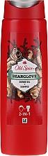 Kup Żel pod prysznic i szampon 2 w 1 dla mężczyzn - Old Spice Bearglove Shower Gel + Shampoo 2-in-1