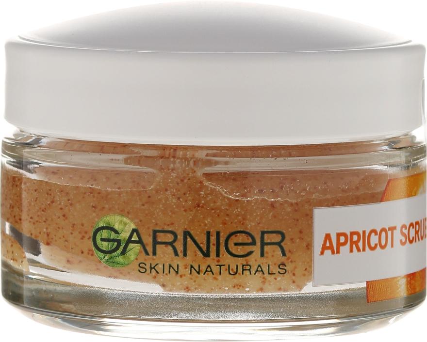 Peeling do twarzy Morela - Garnier Skin Naturals Apricot Face Scrub — фото N2