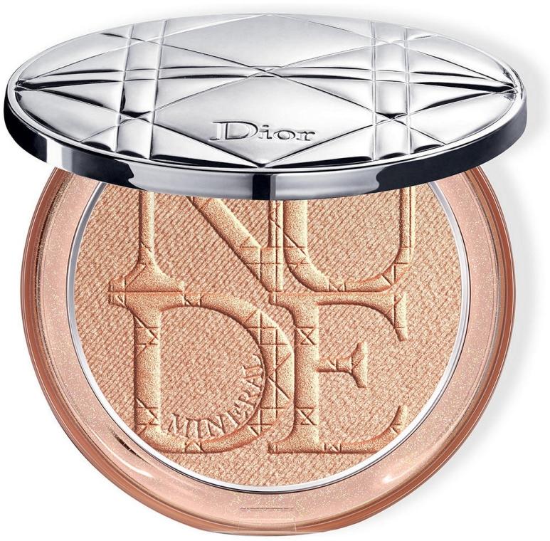 Mineralny rozświetlacz w pudrze do twarzy - Dior Diorskin Mineral Nude Luminizer Powder — фото N1