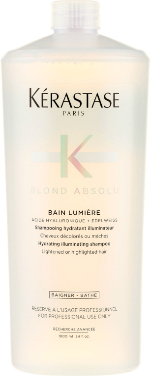 Nawilżająca kąpiel rozświetlająca do włosów blond - Kérastase Blond Absolu Bain Lumiére Shampoo — фото N2