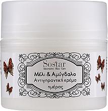 Kup Przeciwstarzeniowy krem do twarzy z miodem i masłem migdałowym - Sostar Honey & Almonds Anti-ageing Face Cream