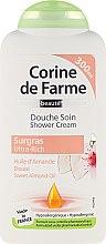 Kup Ultrabogaty krem pod prysznic z olejem ze słodkich migdałów - Corine de Farme Shower Cream