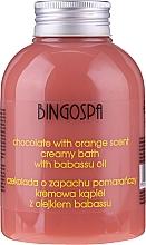 Kup Kremowa kąpiel Czekolada z pomarańczą i olejem babassu - BingoSpa Creamy Chocolate Bath With Orange Oil
