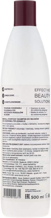 Szampon do włosów Codzienna pielęgnacja - Markell Cosmetics Everyday — фото N2
