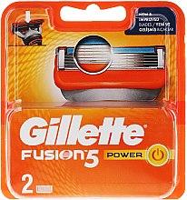 Kup Wymienne wkłady do maszynki, 2 szt. - Gillette Fusion Power