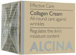 Kup Przeciwzmarszczkowy krem kolagenowy do twarzy - Alcina Collagen Creme
