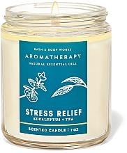 Kup Bath and Body Works Eucalyptus Tea Stress Relief - Świeca zapachowa
