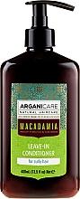 Kup Odżywka bez spłukiwania do włosów kręconych z olejem makadamia - Arganicare Macadamia Leave-In Conditioner