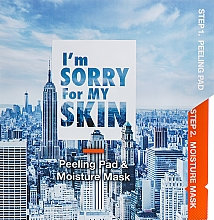 Kup Nawilżająca maska peelingująca do twarzy - Ultru I'm Sorry For My Skin Peeling Pad & Moisture Mask