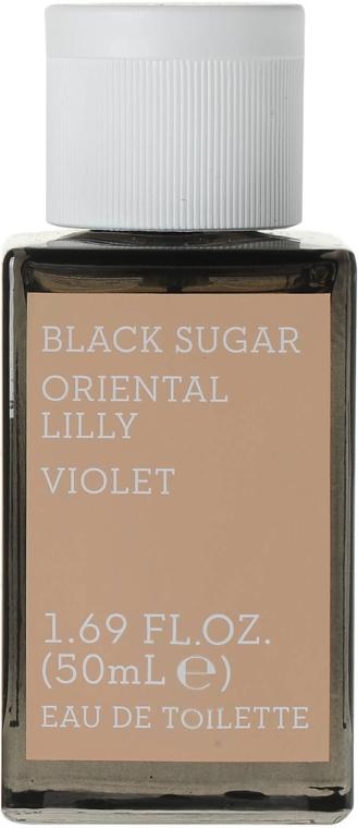 Korres Black Sugar Oriental Lilly Violet - Woda toaletowa — фото N1
