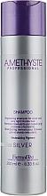 Kup Rozjaśniający szampon do siwych i jasnych włosów - Farmavita Amethyste Silver Shampoo