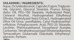 Ujędrniający krem do szyi i dekoltu z ekstraktem z pereł - BioDermic Pearl Glow Neck And Decolletage Cream (miniprodukt) — фото N2