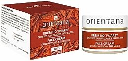Kup Krem do twarzy na dzień i noc Drzewo sandałowe i kurkuma - Orientana