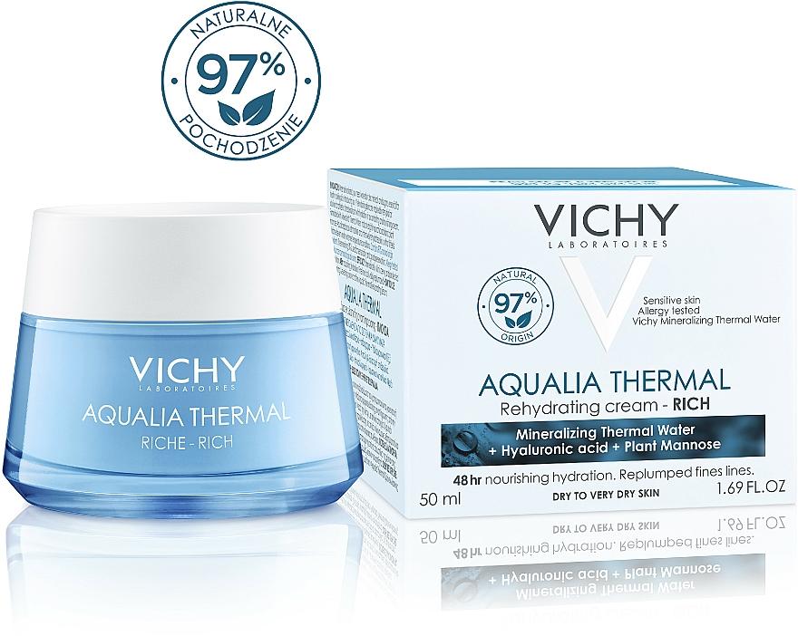 Bogaty krem intensywnie nawilżający do skóry suchej i bardzo suchej - Vichy Aqualia Thermal Rich Cream — фото N11